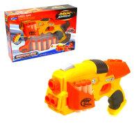 Бластер с мягкими пулями Max Shooting  Whirlwind Hero 323-8