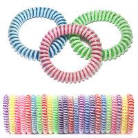 Разноцветные резинки-пружинки для волос