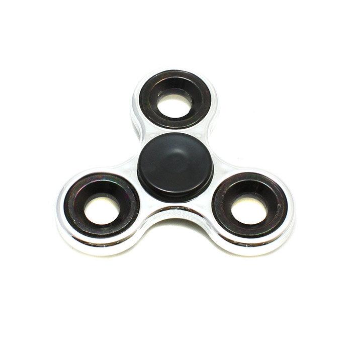Металлический спиннер  металлик три лопасти