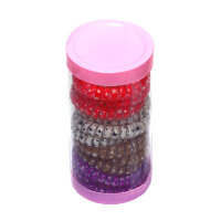 Набор разноцветных резинок-пружинок для волос (12 шт.)