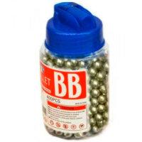 Пластиковые пульки BB 6мм. для страйкбола 400 шт.