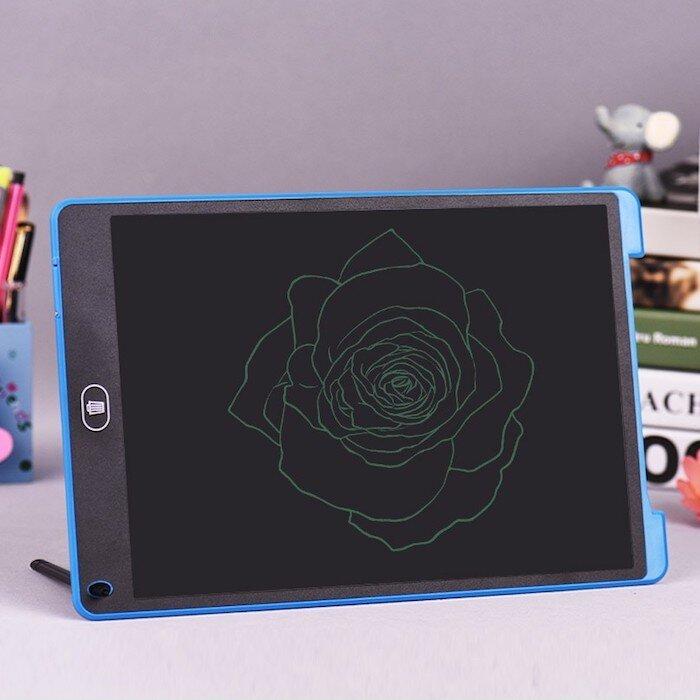 Графический планшет для рисования LCD Writing Tablet 12 дюймов и стилусом