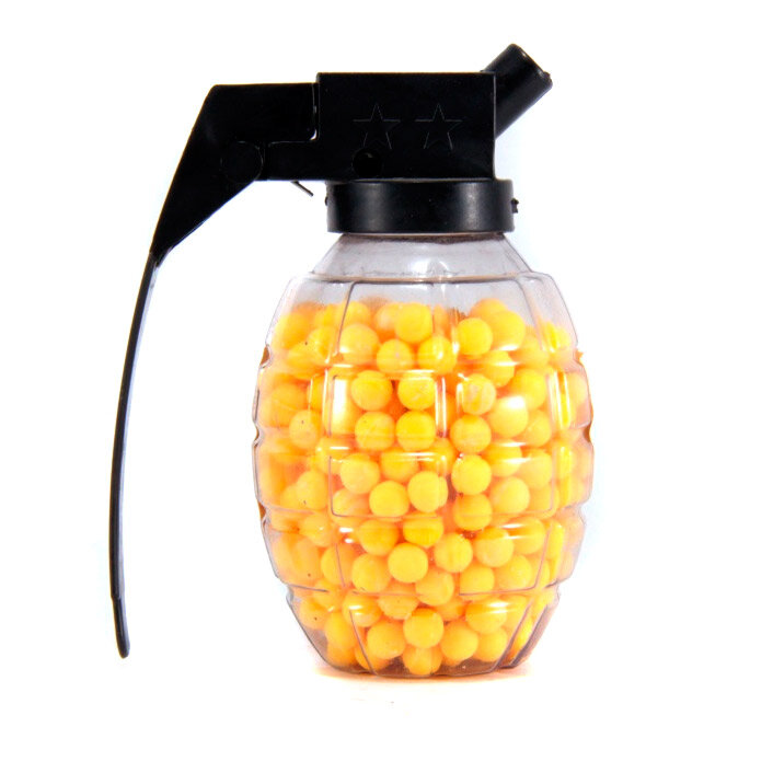 Пластиковые пульки BB 6мм. для страйкбола 500шт.