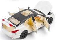 """Машинка металлическая инерционная  """"Toyota Camry"""" 21 см (1:24) (белый)"""