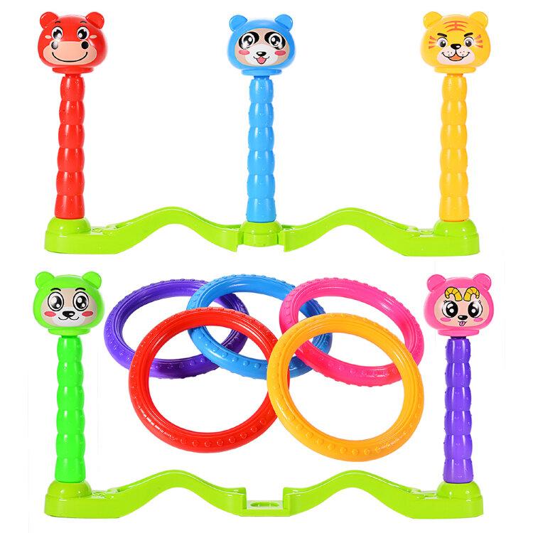 Кольцеброс с пятью столбиками Ring Toss