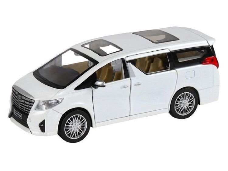 """Машинка металлическая инерционная """"Toyota Alphard"""" 1:24  (в коробке)"""