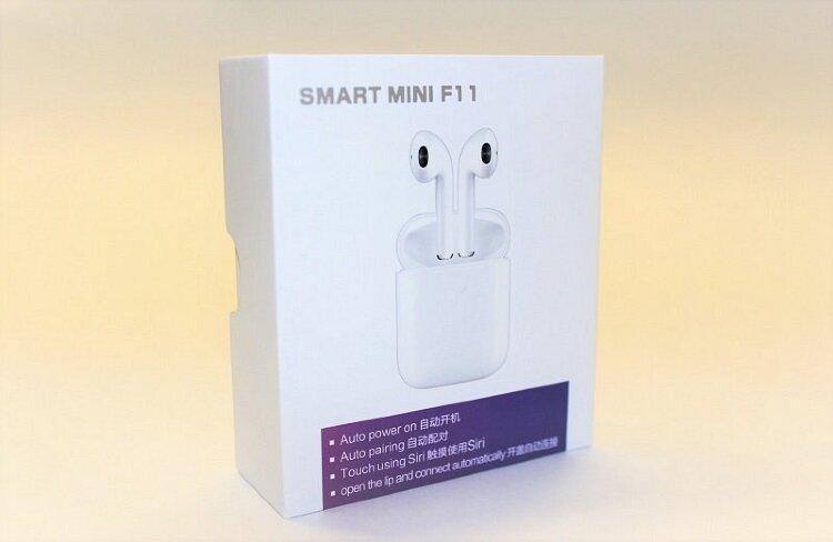 Беспроводные наушники F11 Smart Mini TWS