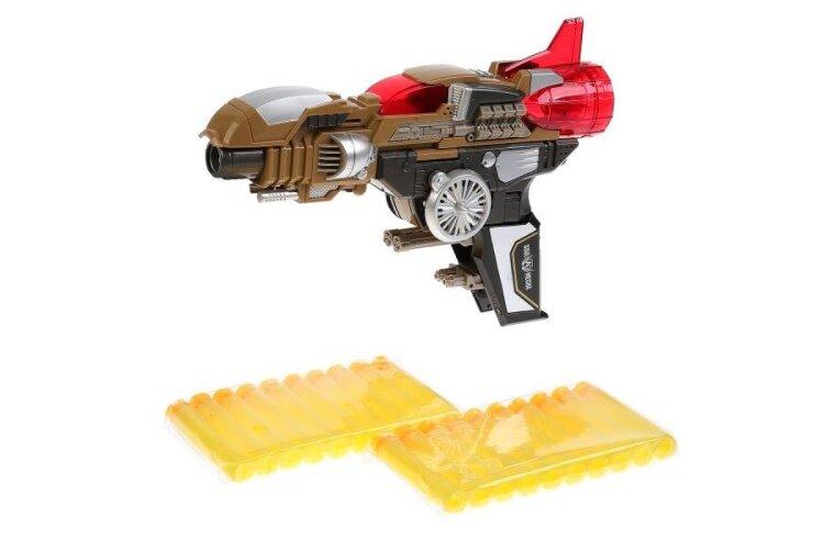 Трансформер бластер / самолет с мягкими стрелами