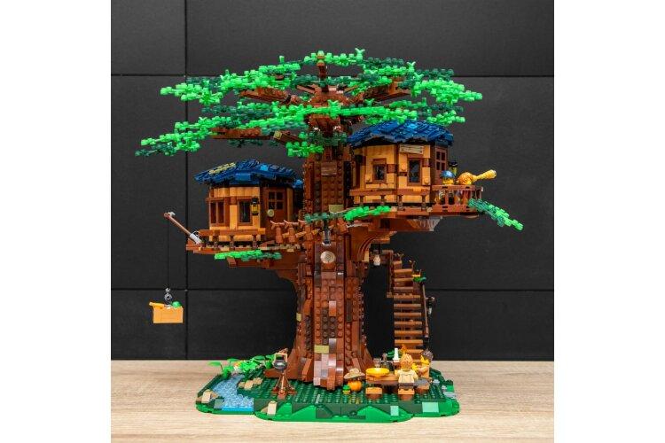 Конструктор Ideas Дом на дереве Арт. 6007, 3117 деталей