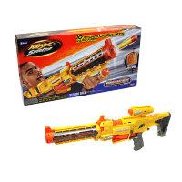 Автоматический бластер с мягкими пулями и прикладом Дикий вихрь Whirlwind Hero 323-3