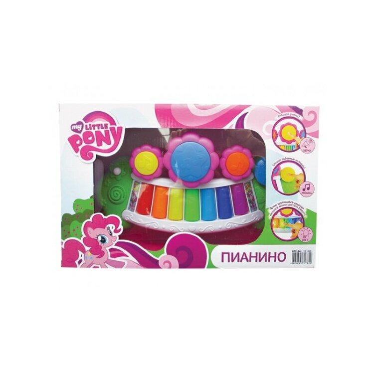Детское пианино My Little Pony со светом и звуком
