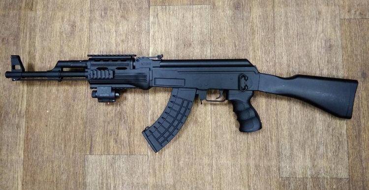 Детский автомат Калашникова AK-47 0808 CC