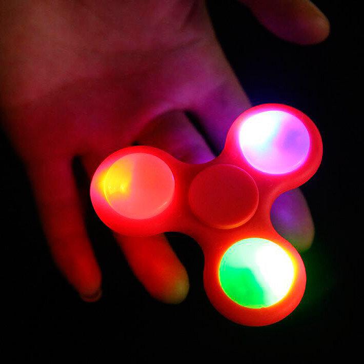 Спиннер с подсветкой LED  Fidget Spinner