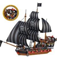 """Конструктор """"Пираты Карибского моря: Пиратский корабль"""" Ql 1801 987 дет."""