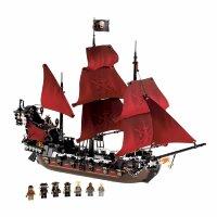 Конструктор Пираты Карибского моря Месть Королевы Анны  Pirates of the Carzbbean SY1199  1097 дет.