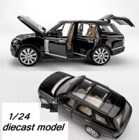 Машинка металлическая инерционная  Range Rover Vogue  1:24 (в коробке)