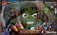 Игровые фигурки Танос, Халк + лицевая маска Халка
