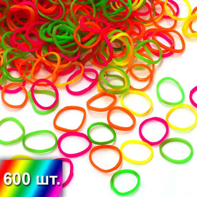 """""""Разноцветный микс"""" резиночки для плетения браслетов"""