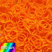 Оранжевые резиночки для плетения браслетов