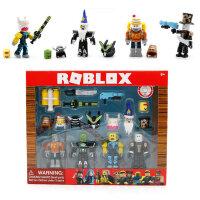 Набор фигурок Роблокс - Robot Riot Mix & Match Set - 4 фигурки с аксессуарами