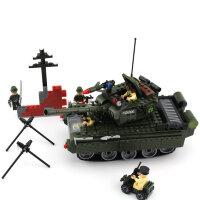 """Конструктор """"Военный танк"""" 466 дет."""