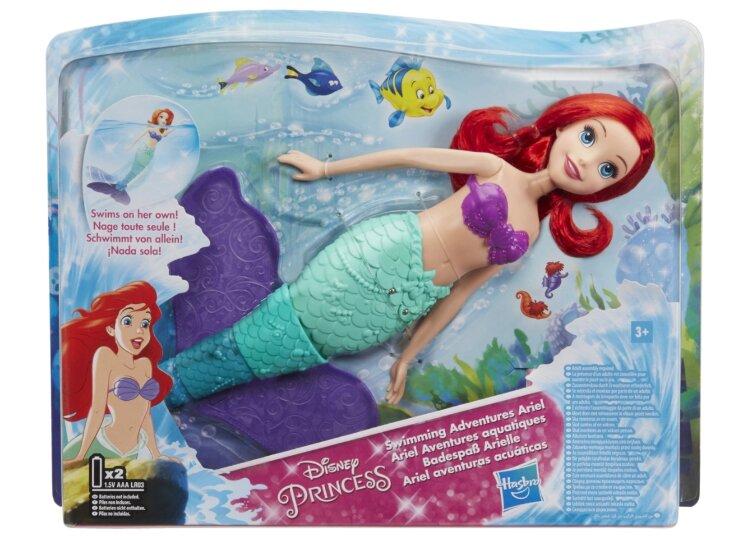 Кукла Русалочка Ариэль плавающая Hasbro Disney Princess