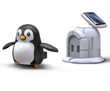 Робот-конструктор на солнечной батарее  Жизнь пингвина