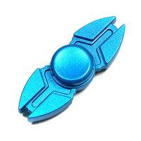 """Спиннер """"Голубой металлик"""" две лопасти  Fidget Spinner"""