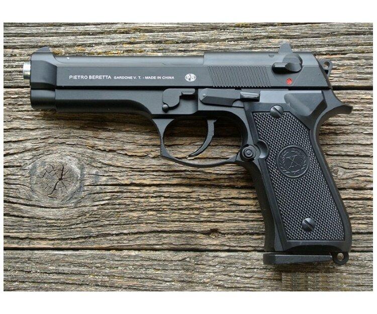 Страйкбольный пистолет из металла Smart K117 (Beretta M9)
