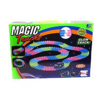 Светящаяся трасса Magic Tracks 220 деталей