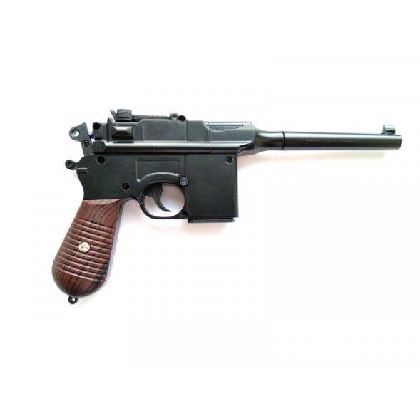 """Металлический пистолет для страйкбола """"Маузер"""" Airsoft Gun С55"""