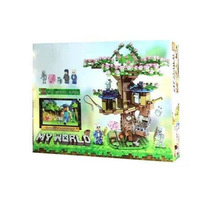 Конструктор Майнкрафт Цветущая сакура My World 81003