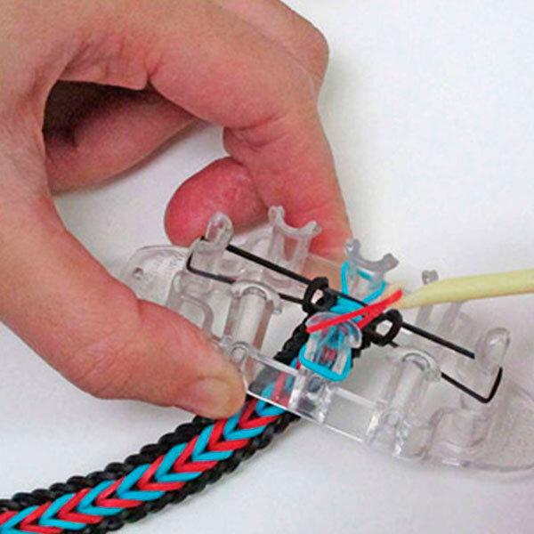 """Станок """"Monster Tail"""" (Монстер тэил) + станок """"Рогатка"""" + 2 крючка и клипсы для плетения браслетов"""