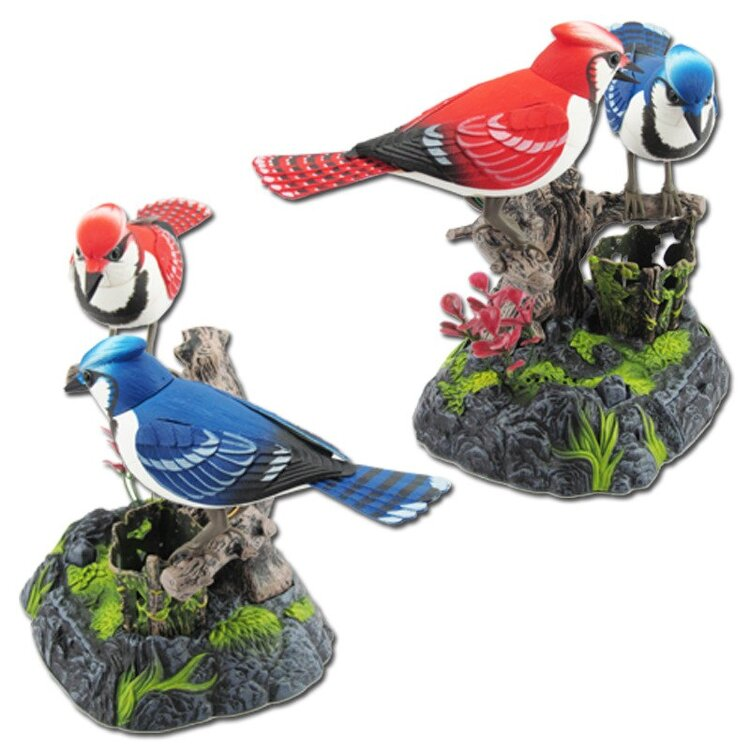 Подставка для карандашей Поющие птички