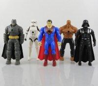 Фигурки супергероев Марвел 5 в 1 (с Бэтменом)