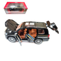 """Машинка металлическая инерционная """"Toyota Land Cruiser"""" 1:24 (черный в коробке)"""