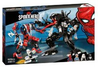 """Конструктор   """"Человек Паук против Венома""""  625 дет  Spider Hero 11188"""