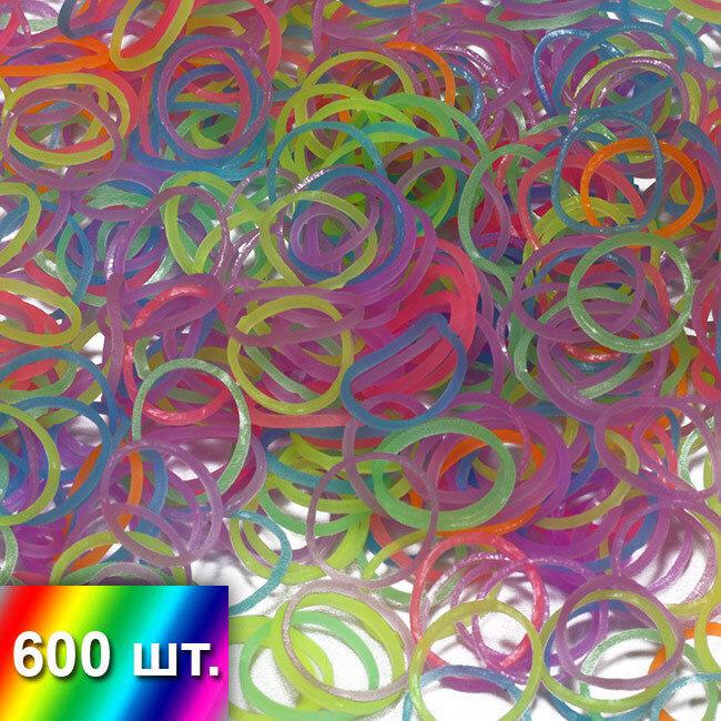 Светящиеся в темноте (неоновые) резиночки для плетения браслетов
