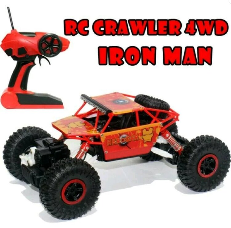 Радиоуправляемая машина-вездеход Rock Crawler, 4 WD HeroCar  1:18