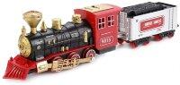 Радиоуправляемая железная дорога Train King  (дым, свет, звук ) со спецтехникой