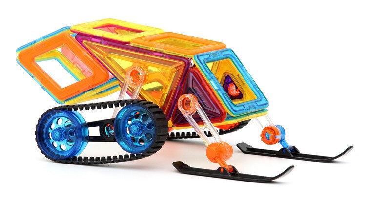 Магнитный конструктор ведро 98 деталей Xinbida Magical Magnet 7098-98