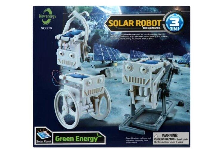 Конструктор на солнечных батареях 3 в 1 Solar Robot  216