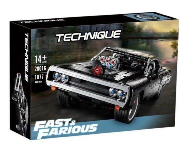 "Конструктор Technique ""Dodge Charger Доминика Торетто"", 1077 дет 20016"