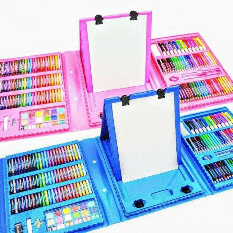 Набор для рисования Super Mega Art Set 208 предметов с мольбертом