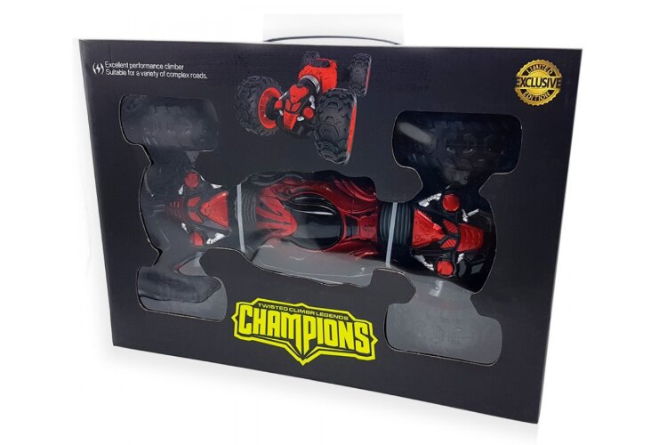 """Радиуправляемая машинка-перевертыш """"Champions"""" (Hyper). Управление жестами+ пультом 40 см"""