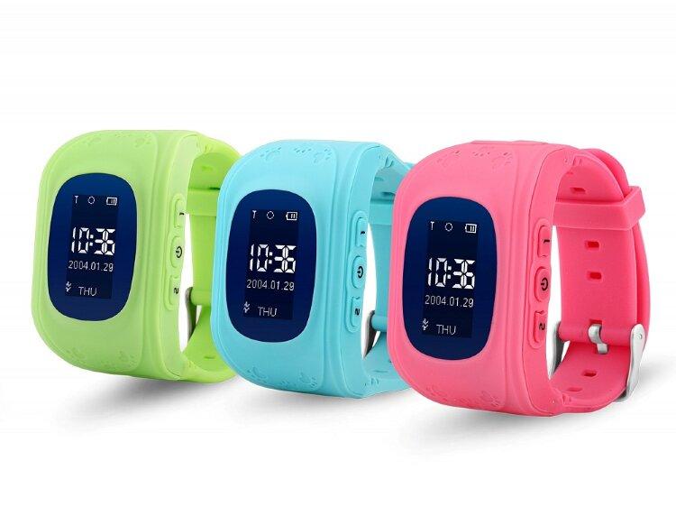 Детские умные часы Baby Watch Q50 Голубые (с датчиком снятия)