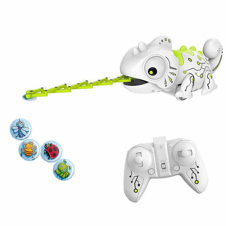 Интерактивная игрушка Хамелеон на пульте управления