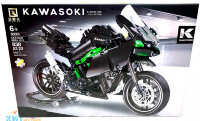 "Конструктор  техник мотоцикл ""Kawasoki Ninja H2R"" 838 дет. Technoiogy 85001"