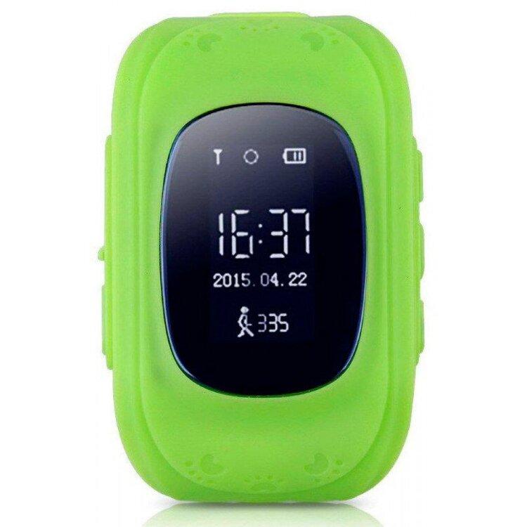 Детские умные часы Baby Watch Q50 Зеленые (с датчиком снятия)