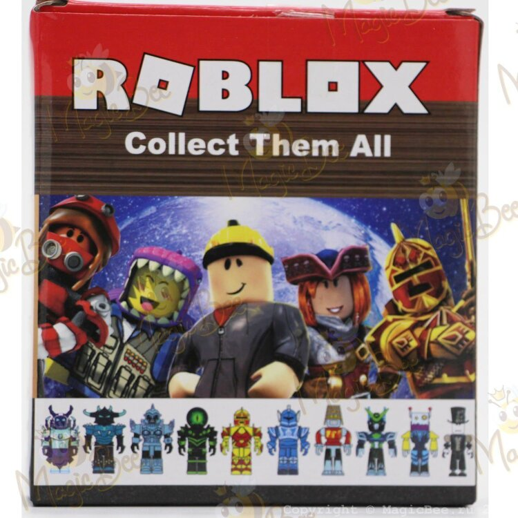 Фигурка Roblox (Роблокс)- Robots Riot - Колдун